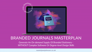 Branded Journals Masterplan free guide for coaches, service providers, trainers, therapists, VAs