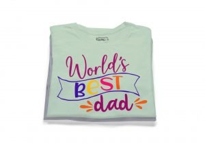 worlds best dad tshirt fathers day gift