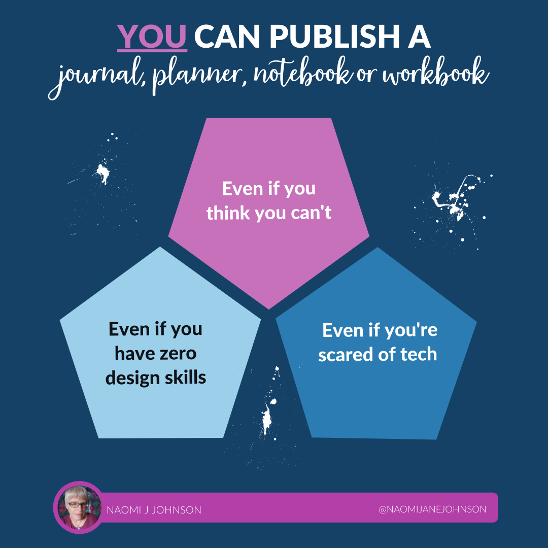 you can publish a journal